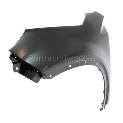 Aftermarket Replacement - FDR-1704L Front Fender Quarter Panel Driver Side LH For 11-12 Sorento KI1240135 663111U000 - Image 2