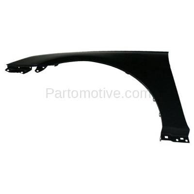 Aftermarket Replacement - FDR-1696L Front Fender Quarter Panel Driver Side LH Fits 11-14 Sonata HY1240150 663113Q000 - Image 2