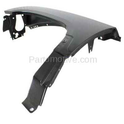 Aftermarket Replacement - FDR-1200L 2005-2007 Dodge Dakota Pickup Truck (V6/V8) Front Fender Quarter Panel (without Molding Holes) Primed Steel Left Driver Side - Image 2