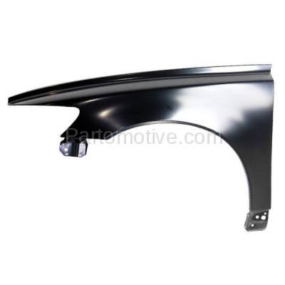 Aftermarket Replacement - FDR-1645L 04-11 S40/V50 Front Fender Quarter Panel Left Driver Side LH VO1240115 312975402 - Image 1