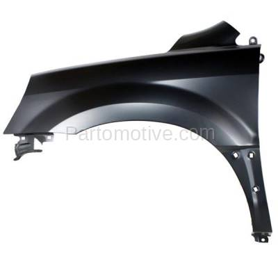 Aftermarket Replacement - FDR-1565L 03-05 Pilot Front Fender Quarter Panel Left Driver Side HO1240159 60261S9VA90ZZ - Image 1