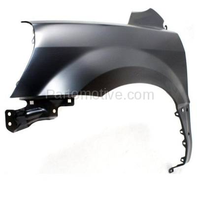 Aftermarket Replacement - FDR-1565L 03-05 Pilot Front Fender Quarter Panel Left Driver Side HO1240159 60261S9VA90ZZ - Image 2