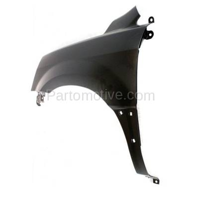 Aftermarket Replacement - FDR-1565L 03-05 Pilot Front Fender Quarter Panel Left Driver Side HO1240159 60261S9VA90ZZ - Image 3