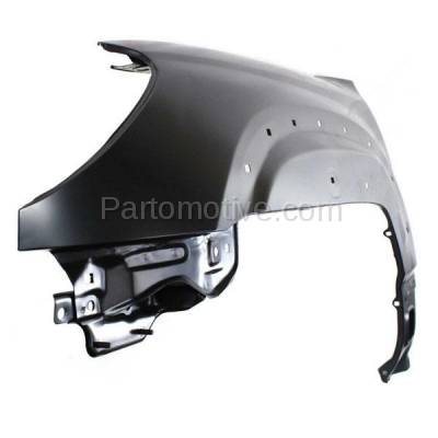 Aftermarket Replacement - FDR-1017L 2006-2009 Toyota 4Runner (Limited, Sport, SR5) Front Fender Quarter Panel (with Mudguard Provision) Steel Left Driver Side - Image 2