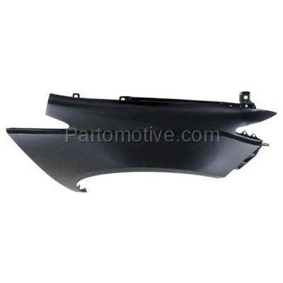 Aftermarket Replacement - FDR-1536R 14-16 Odyssey Front Fender Quarter Panel Passenger Side HO1241187 60210TK8A80ZZ - Image 3