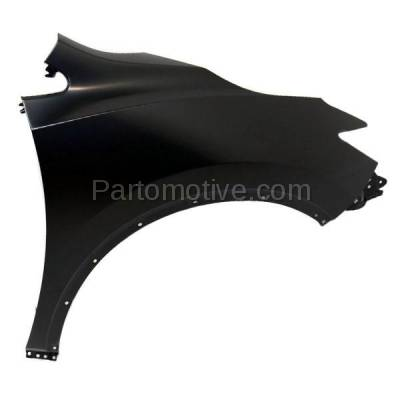 Aftermarket Replacement - FDR-1513R Front Fender Quarter Panel Passenger Side Fits 15-16 Murano NI1241216 631005AA0A - Image 1