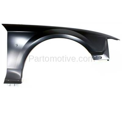 Aftermarket Replacement - FDR-1523R 99-04 Mustang Front Fender Quarter Panel Passenger Side RH FO1241201 XR3Z16005AA - Image 1
