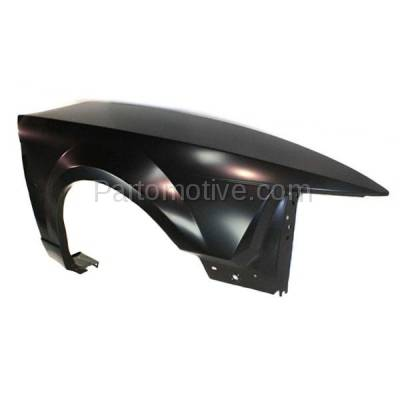 Aftermarket Replacement - FDR-1523R 99-04 Mustang Front Fender Quarter Panel Passenger Side RH FO1241201 XR3Z16005AA - Image 2