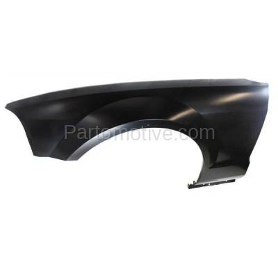 Aftermarket Replacement - FDR-1515L 05-09 Mustang Front Fender Quarter Panel Left Driver Side without Antenna Hole - Image 3