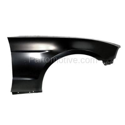 Aftermarket Replacement - FDR-1516R 10-14 Mustang Front Fender Quarter Panel Passenger Side RH FO1241282 AR3Z16005B - Image 1