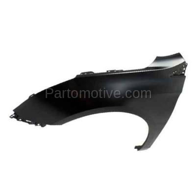 Aftermarket Replacement - FDR-1834L 2013-2017 Cadillac XTS (Sedan 4-Door) (3.6 Liter V6 Engine) Front Fender Quarter Panel Primed Steel Left Driver Side - Image 2