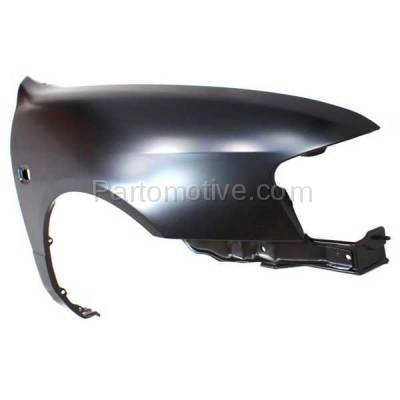 Aftermarket Replacement - FDR-1345R 1999-2002 Infiniti G20 (2.0 Liter Engine) Front Fender Quarter Panel (with Turn Signal Lamp Hole) Primed Steel Right Passenger Side - Image 2