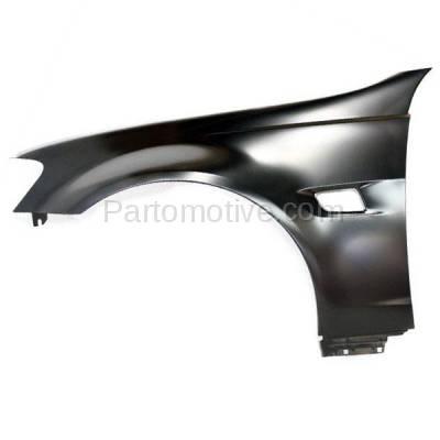 Aftermarket Replacement - FDR-1352L 2008-2009 Pontiac G8 (V6/V8 Engine) (USA Built Models) Front Fender Quarter Panel (with Turn Signal Light Hole) Left Driver Side - Image 1