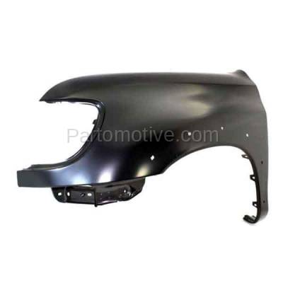 Aftermarket Replacement - FDR-1787L 00-06 Tundra Truck Front Fender Quarter Panel Driver Side TO1240176 538020C041 - Image 2