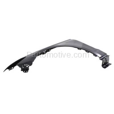 Aftermarket Replacement - FDR-1343L 2013-2016 Ford Fusion (1.5L & 1.6L & 2.0L & 2.5L) Front Fender Quarter Panel (without Molding Holes) Primed Steel Left Driver Side - Image 2