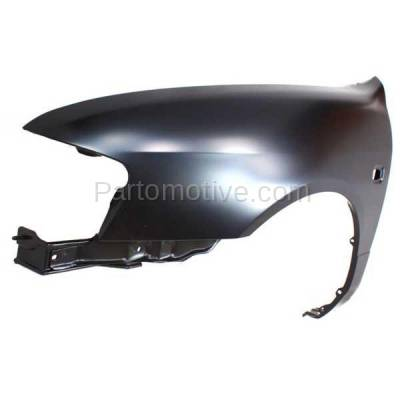 Aftermarket Replacement - FDR-1345L 1999-2002 Infiniti G20 (2.0 Liter Engine) Front Fender Quarter Panel (with Turn Signal Lamp Hole) Primed Steel Left Driver Side - Image 2