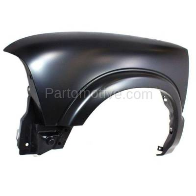 Aftermarket Replacement - FDR-1642L Chevy S10 Pickup Truck 4WD Front Fender Quarter Panel Left Driver Side w/o ZR2 - Image 2