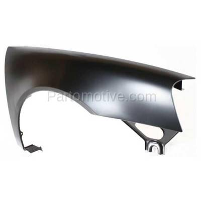 Aftermarket Replacement - FDR-1369R 2004-2008 Pontiac Grand Prix (Base, GT, GT1, GT2, GTP) Front Fender Quarter Panel (without Molding Holes) Primed Steel Right Passenger Side - Image 2