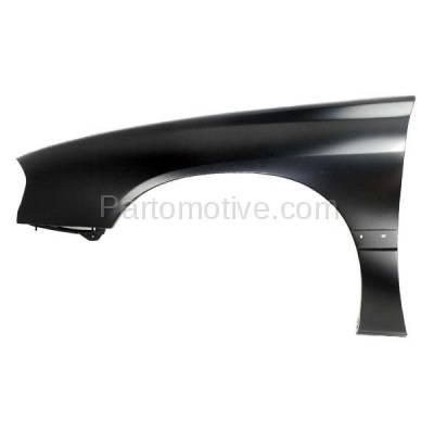 Aftermarket Replacement - FDR-1388L 2000-2005 Chevrolet Impala (3.4L & 3.8L) (Sedan 4-Door) Front Fender Quarter Panel (with Molding Holes) Primed Steel Left Driver Side - Image 1