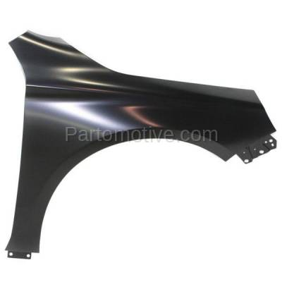 Aftermarket Replacement - FDR-1390R 2014-2020 Chevrolet Impala (Eco, LS, LT, LTZ, Premier) (Sedan 4-Door) Front Fender Quarter Panel Primed Steel Right Passenger Side - Image 1