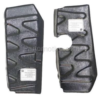 Aftermarket Replacement - ESS-1369L & ESS-1369R Front Engine Splash Shield Under Cover Fits 06-11 Rio/Rio5 Left & Right SET PAIR - Image 1