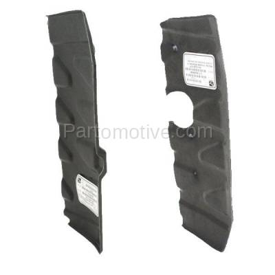 Aftermarket Replacement - ESS-1369L & ESS-1369R Front Engine Splash Shield Under Cover Fits 06-11 Rio/Rio5 Left & Right SET PAIR - Image 2