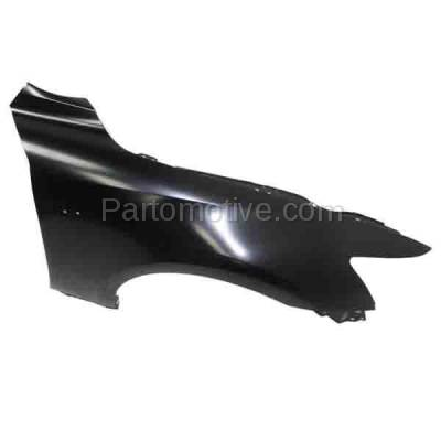 Aftermarket Replacement - FDR-1404L 2014-2020 Lexus IS200T IS250 IS300 IS350 (2.0L & 2.5L & 3.5L) (with F-Sport Package) Front Fender Quarter Panel Steel Left Driver Side - Image 3