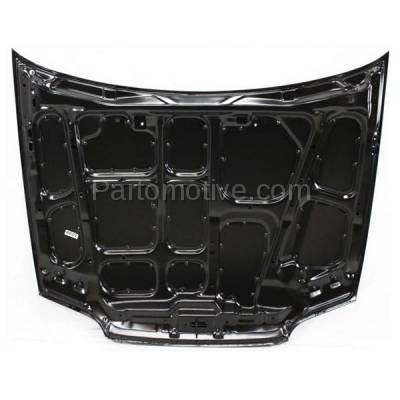 Aftermarket Replacement - HDD-1330 1992-1995 Honda Civic (CX, DX, EX, Si, VX) Coupe & Hatchback (1.5 & 1.6 Liter Engine) Front Hood Panel Assembly Primed Steel - Image 3