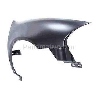 Aftermarket Replacement - FDR-1400R 1998-2004 Chrysler & Dodge Intrepid (2.7 & 3.2 & 3.5 Liter V6) Front Fender Quarter Panel Primed Steel Right Passenger Side - Image 2