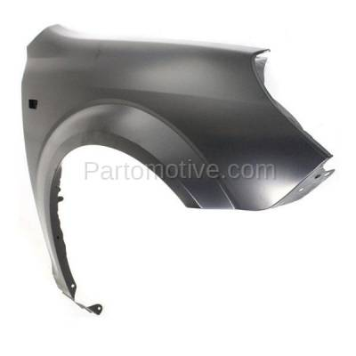 Aftermarket Replacement - FDR-1089R 2007-2009 Saturn Aura (2.4 & 3.5 & 3.6 Liter) Front Fender Quarter Panel (with Turn Signal Light Hole) Primed Steel Right Passenger Side - Image 2