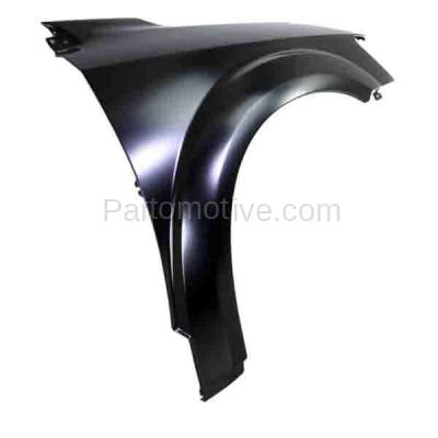 Aftermarket Replacement - FDR-1412R 2009-2020 Dodge Journey (2.4 & 3.5 & 3.6 Liter Engine) Front Fender Quarter Panel (without Molding Holes) Primed Steel Right Passenger Side - Image 2