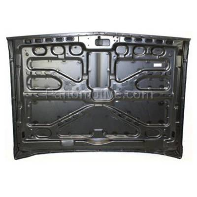 Aftermarket Replacement - HDD-1209 1981-1987 Chevy/GMC C/K/R/V-Series Full Size Pickup Truck, Blazer/Jimmy & 1987-1991 Suburban Front Hood Panel Assembly Primed Steel - Image 3