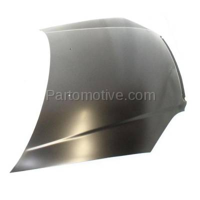 Aftermarket Replacement - HDD-1343 2001-2003 Honda Civic (DX, EX, GX, HX, Hybrid, Si) 1.3 & 1.7 Liter Engine (Coupe & Sedan) Front Hood Panel Assembly Primed Steel - Image 2