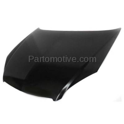 Aftermarket Replacement - HDD-1279 2006-2007 Chevrolet Monte Carlo & 2006-2013 Impala & 2014-2016 Chevy Impala Limited Front Hood Panel Assembly Primed Steel - Image 2