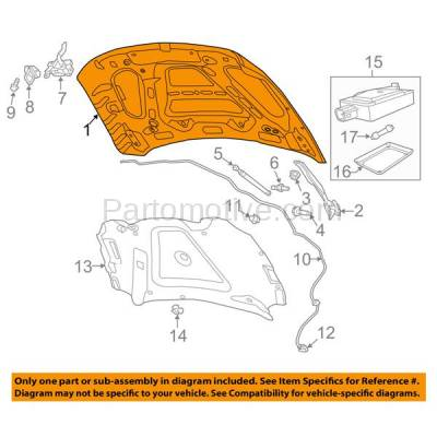 Aftermarket Replacement - HDD-1135 2010-2018 Ram 2500/3500 & 2011-2018 Ram 4500/5500 Pickup Truck (Standard, Extended, Crew Cab) Front Hood Panel Assembly Primed Steel - Image 3