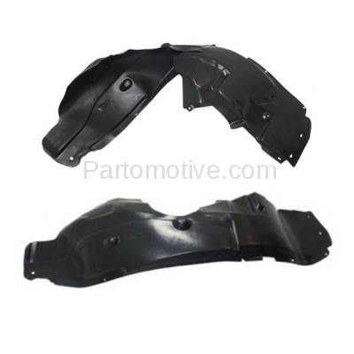 Aftermarket Replacement - IFD-1141L & IFD-1141R 12 13 14 200 Front Splash Shield Inner Fender Liner Panel Left & Right SET PAIR - Image 1