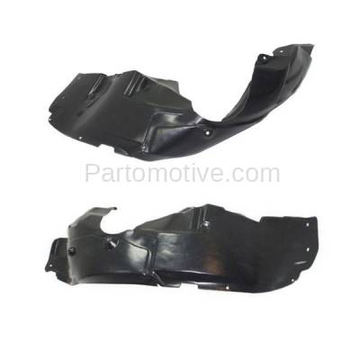 Aftermarket Replacement - IFD-1141L & IFD-1141R 12 13 14 200 Front Splash Shield Inner Fender Liner Panel Left & Right SET PAIR - Image 2