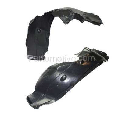 Aftermarket Replacement - IFD-1141L & IFD-1141R 12 13 14 200 Front Splash Shield Inner Fender Liner Panel Left & Right SET PAIR - Image 3