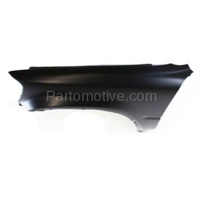 Aftermarket Replacement - FDR-1188L 1997-2001 Honda CR-V (2.0L) Front Fender Quarter Panel without Side Light Holes (with Molding Holes) Primed Steel Left Driver Side - Image 3