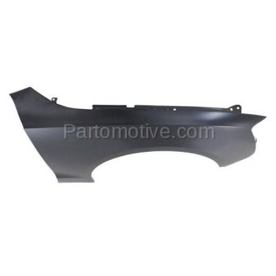 Aftermarket Replacement - FDR-1046R 2008-2017 Audi A5/A5 Quattro & S5 (Coupe & Convertible 2-Door) Front Fender Quarter Panel Primed Steel Right Passenger Side - Image 2