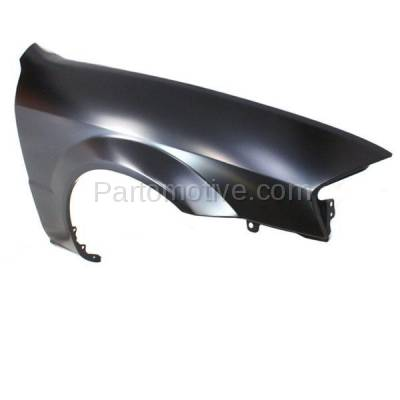 Aftermarket Replacement - FDR-1576R 99-00 Protege Front Fender Quarter Panel Passenger Side RH MA1241136 BJ0J52111A - Image 2