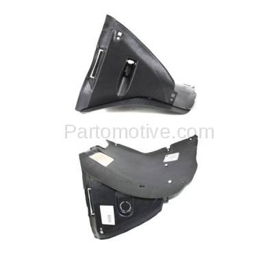 Aftermarket Replacement - IFD-1106L & IFD-1106R 99-06 3-Series Front Splash Shield Inner Fender Liner Panel Left Right SET PAIR - Image 2