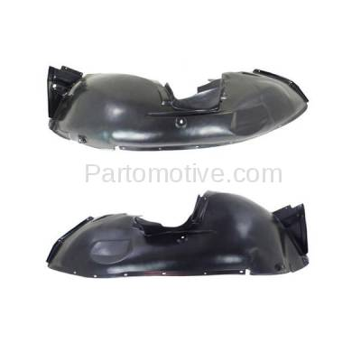 Aftermarket Replacement - IFD-1103L & IFD-1103R 00-06 X5 Front Splash Shield Inner Fender Liner Panel Left & Right Side SET PAIR - Image 2