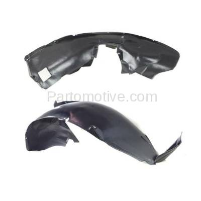 Aftermarket Replacement - IFD-1103L & IFD-1103R 00-06 X5 Front Splash Shield Inner Fender Liner Panel Left & Right Side SET PAIR - Image 3