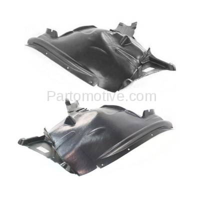 Aftermarket Replacement - IFD-1084L & IFD-1084R 07-13 X5 Front Splash Shield Inner Fender Liner Panel Left & Right Side SET PAIR - Image 3
