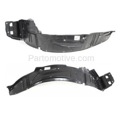 Aftermarket Replacement - IFD-1024L & IFD-1024R 02-04 RSX Front Splash Shield Inner Fender Liner Panel Left Right Side SET PAIR - Image 2