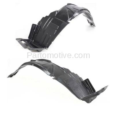 Aftermarket Replacement - IFD-1024L & IFD-1024R 02-04 RSX Front Splash Shield Inner Fender Liner Panel Left Right Side SET PAIR - Image 3