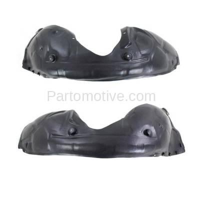 Aftermarket Replacement - IFD-1144L & IFD-1144R 11-14 300 Front Splash Shield Inner Fender Liner Panel Left Right Side SET PAIR - Image 2