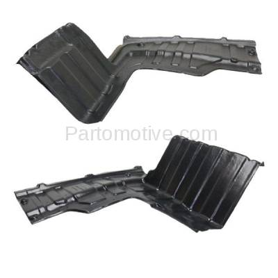 Aftermarket Replacement - ESS-1352L & ESS-1352R Engine Splash Shield Under Cover Undercar For 12-14 Rio/Rio5 Left Right SET PAIR - Image 2