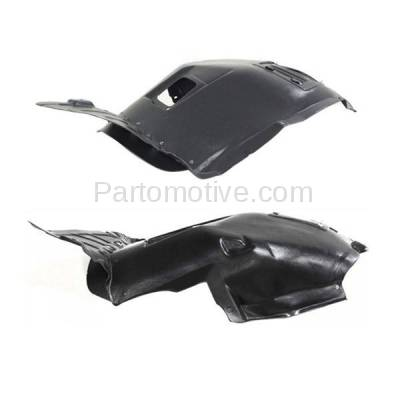 Aftermarket Replacement - IFD-1101L & IFD-1101R 06-12 3-Series Front Splash Shield Inner Fender Liner Panel Left Right SET PAIR - Image 3